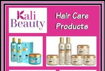Kali Beauty Hair Products / Bring the salon home!
