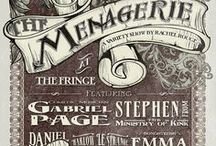 Event Posters and Typography