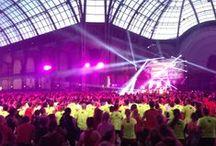 Evénement LesMills Reebok Grand Palais 1er Février 2014 / Le 1er Février 2014 s'est déroulé un des plus grands événements Fitness de l'année, organisé par LesMills et Reebok au Grand Palais de Paris.  Toute l'équipe des Cercles de la Forme était présente pour cette soirée incontournable.