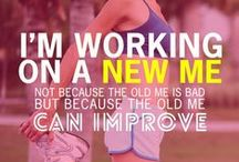 Fitness Inspiration & Motivation / Words to Motivate and Inspire!!