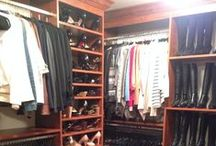 Moda Mentore's Closet Design Transformations / Before and After photos of the real closets that Moda Mentore organized.