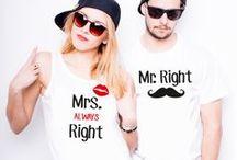 Koszulki dla Niej i Niego / Koszulki dla par #koszulkiznadrukiem