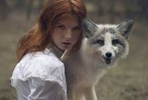 Photography: Katerina Plotnikova / My favourite photographer is Katerina Plotnikova. Her photos are amazing. We can see beautiful women with ginger hair and animals and also breathtaking landscapes. Welcome to your fairy tale!