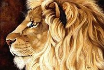 Lion Art / Paintings, drawings, sculptures and photos. Aslan, Lion King and the others <3