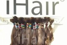Hall of Fame hairextensions / Before after hairextensions
