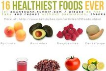 Superfoods, healthy recipes &tips