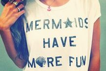 Mermaid Inspiration / Every beach girl loves Mermaids, and this board has all the mermaid inspiration, fashion, and home decor a SummerGirl could want!