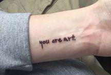 Ink // tattoo