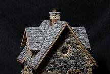 Linnunpöntöt ja miniatyyritalot