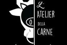 .my GRAPHIC DESIGN // L'ATELIER DELLA CARNE / design logos