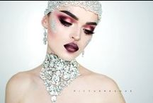 Make up Inspiration / gorgeous make up looks and make up art