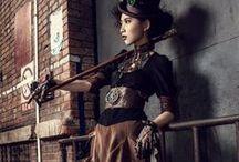 goth outfits, steampunk & co. / steampunk and goth fashion