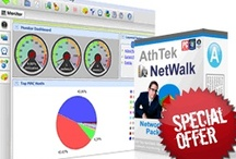 AthTek NetWalk / AthTek NetWalk is a comprehensive network monitoring and packet sniffing tool for large network system administrators. It has an elegent graphical interface and be able to analyze the network traffic to extreme details. It has an enterprise edition and a free edition.