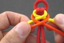 Paracord, rope and weaving, etc. / Things made from paracord, rope, woven items, etc.