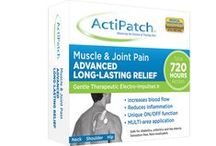 ActiPatch® Muscle & Joint Pain Relief / The ActiPatch® Muscle & Joint Pain Relief can be used on multiple locations on your body using medical adhesives to reduce pain and inflammation.  This product is great for your back, hips, neck, shoulders, and many other areas.