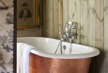 Bathroom design ideas / Design ideas for reclaimed,salvaged, antique, vintage, upcycled.
