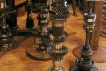 Metalwork Design ideas / Design ideas for reclaimed,salvaged, antique, vintage, upcycled.
