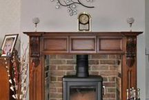Fireplaces Design ideas / Design ideas for reclaimed,salvaged, antique, vintage, upcycled.
