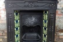 Fireplaces - Reclaimed & Antique For Sale / Please note items pinned from the website are unique so could be already sold but similar items maybe be available. / by Architectural salvage on SalvoWEB