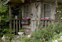 Garden Design ideas / Design ideas for reclaimed,salvaged, antique, vintage, upcycled.