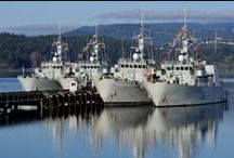 Royal Canadian Navy / At Sea