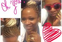 Braids and great hairstyles / Braids