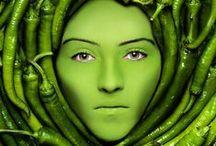 Vert / Green / by YFAFRETONGELE