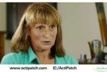 ActiPatch® Pain Relief Testimonials / See what people are saying about ActiPatch® and how it is changing their lives!  ActiPatch® is an award winning drug-free micro medical device that uses Electromagnetic Pulse Therapy to reduce pain and inflammation. This therapy is clinically proven effective and safe and has been used for decades by physicians and physiotherapists.