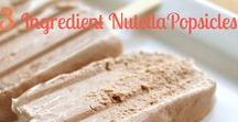 Nutella Recipes / It's all about eating Nutella and all the best Nutella desserts recipes!