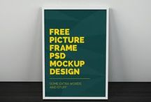 MOCKUPS / Collection of mockups which can be used in design presentations