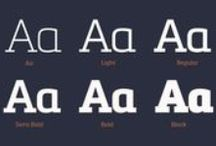 DESIGN | Fonts Slab / A collection of Slab fonts that serve as an inspiration