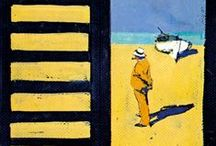 Ferenc Pinter / favourite work by the Italian painter and illustrator (31 October 1931 – 28 February 2008)
