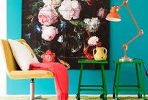 Interior Inspiration   Rooms We Love / Inspiring ways of using art in your home.