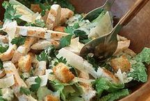 Salad Recipes / The best healthy recipes for chicken salad, quinoa salad, potato salad, macaroni salad, kale caesar salad, watermelon salad, superfood salad, and green salad that will please a crowd. Try these salad recipes for an easy dinner or for a crowd at a party.