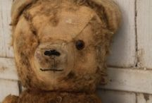 Bears and Dolls / Primitive Bears and Folk Art Dolls / by Yolanda Iding