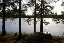 At the Lake / Enjoy fishing, camp fires and the north woods / by Yolanda Iding