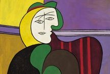 Artisit Spotlight | Pablo Picasso / Art by cubist painter Pablo Picasso.