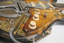 Luthier & Boutique Guitars Basses Gear / A selection of cool boutique guitars and gear from all around the world.