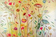 Art Theme | Floral / Flowers, floral prints and flora in art and design to inspire your home decor