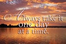 **One Day At A Time** / by Serena Adkins