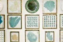 Interior Inspiration   Hang It / Inspirational ways to hang or display art.