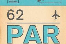 Art style   Retro / Choose your favourite city from this unique collection of prints inspired by airline boarding passes.  Designed by Nick Cranston