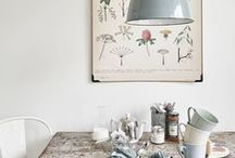 Interior inspiration   Kitchens / Art prints, posters and interior design inspiration for the kitchen space