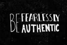 Leading Authentically / To lead your business, you have to know yourself first. Success starts with you.