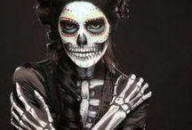 Skeleton Party / Step into my creepy haunted Skeleton Halloween house.  Enjoy creepy haunted house / by Serena Adkins