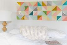 Interior inspiration   Bedroom / Interior Design and decor inspiration for the bedroom.