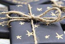 Christmas - Black & Gold / by Serena Adkins