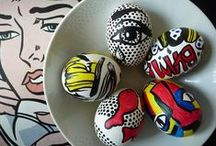 Inspiration   Egg Decorating / Some egg-cellent ideas for decorating your Easter eggs