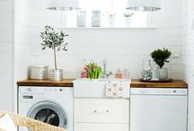 Laundry Rooms / Inspiration for a Beautiful Laundry Room