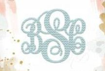 Monograms / All About Monograms!